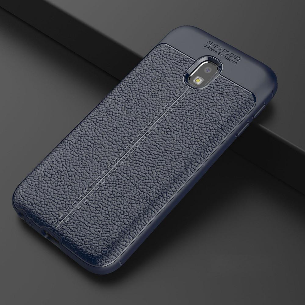 Чехол Touch для Samsung J3 2017 J330 бампер оригинальный Auto focus Blue