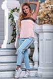 Стильные брюки с яркими нашивными лампасами  42-50р, фото 3