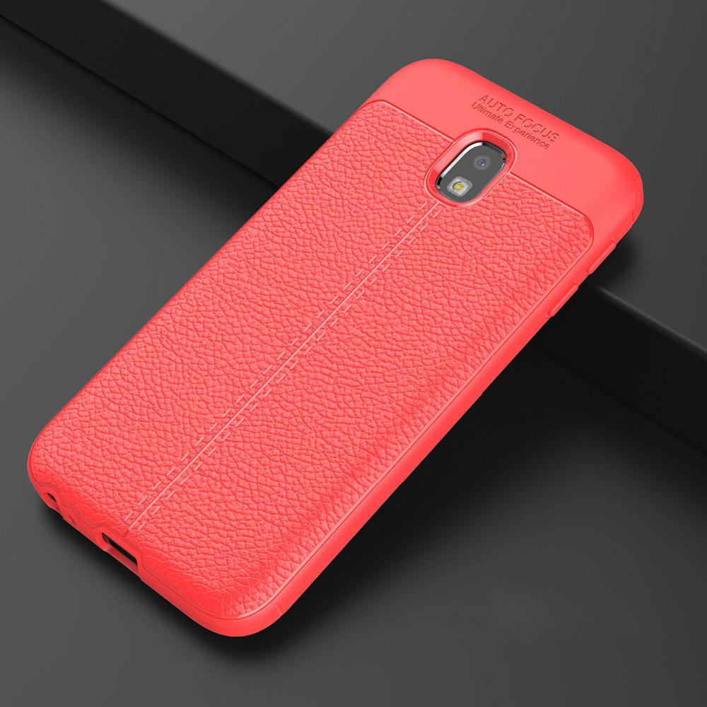 Чехол Touch для Samsung J7 2017 J730 J730H бампер оригинальный Auto focus Red