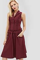Женское расклешенное платье без рукавов (Felis crd)
