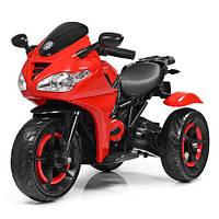 Мотоцикл детский на аккумуляторе M 3683L-3 купить оптом и в розницу со склада в Одессе 7 км