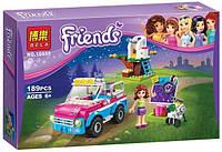 "Конструктор Bela 10555 Friends ""Звездное небо Оливии"" 189 деталей. ( Аналог LEGO Friends 41116 )"
