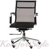 Кресло офисное Solano 3 mеsh black, фото 2