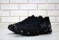 Кроссовки Under Armour Scorpio Running shoes black (ТОП реплика), фото 1