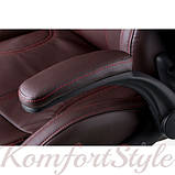 Кресло офисное Lеadеr brown, фото 5