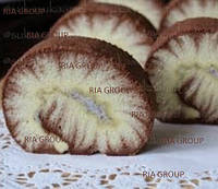 Двуцветный шоколадный бисквит. Смесь для приготовления шоколадного бисквита. Рулет бисквитный.