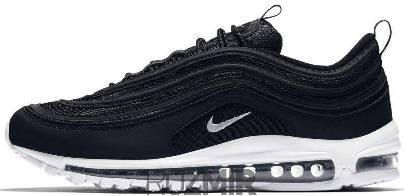 Мужские кроссовки Nike Air Max 97 Black White, фото 2