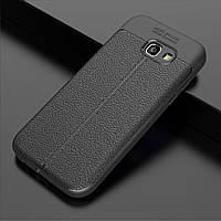 Чехол Touch для Samsung Galaxy A7 2017 / A720 бампер оригинальный Auto focus черный