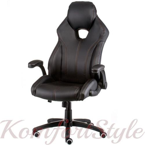 Кресло геймеровское Leader black