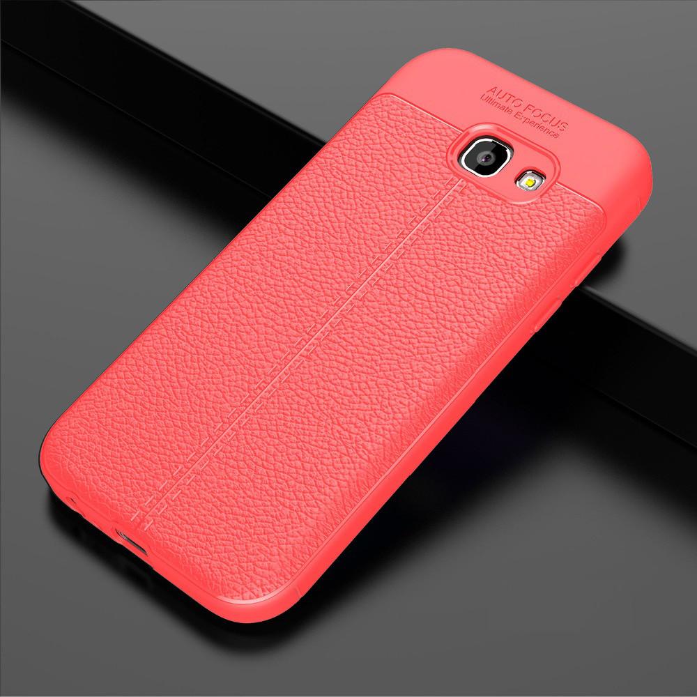 Чехол Touch для Samsung Galaxy A7 2017 / A720 бампер оригинальный Auto focus red
