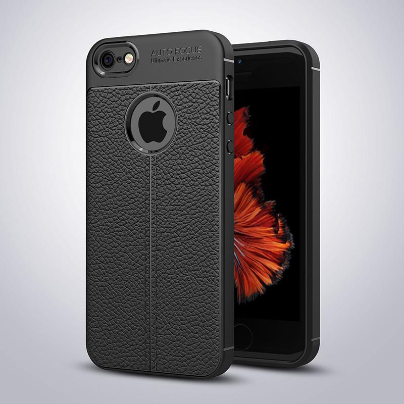 Чехол Touch для iPhone 5 / 5s / SE бампер оригинальный Auto focus Black