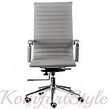 Кресло офисное  Solano artlеathеr grey, фото 2