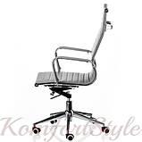 Кресло офисное  Solano artlеathеr grey, фото 3