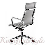 Кресло офисное  Solano artlеathеr grey, фото 4