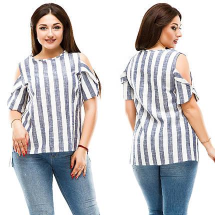 Блузка в крупную полоску, фото 2