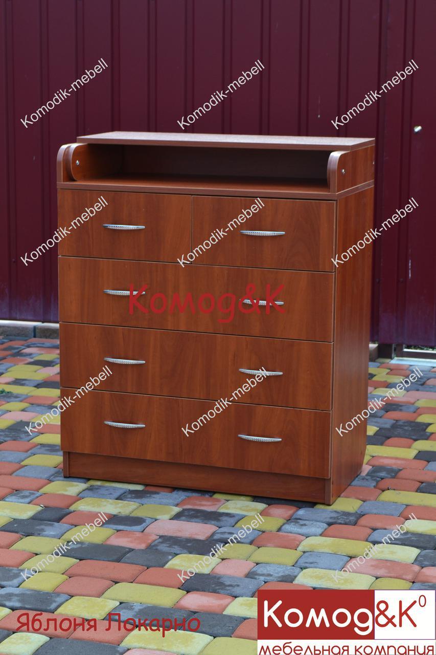 Пеленальный комод(пеленальный столик) 2+3 Цвет Яблоня