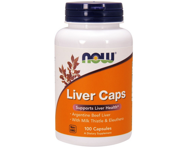 Витамины NOW Foods Liver Caps 100 капсул