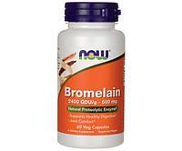 Жиросжигатель NOW Foods Bromelain 500 mg 60 капсул