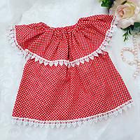 """Платье для девочки """"Красное"""", фото 1"""