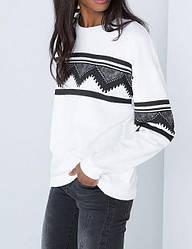 Белая женская кофта AL6790