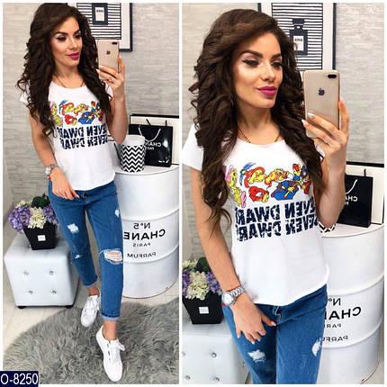 Смешная женская футболка , фото 2