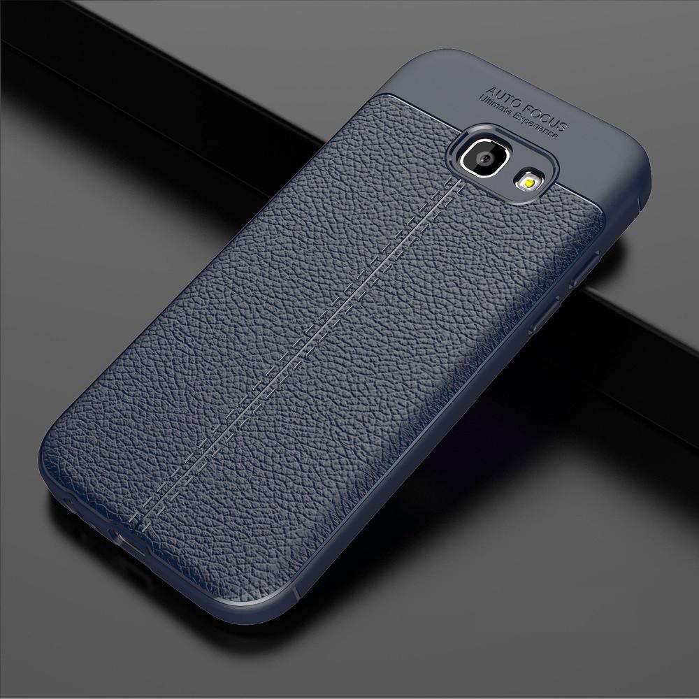 Чехол Touch для Samsung A5 2017 A520 бампер оригинальный Auto focus Blue
