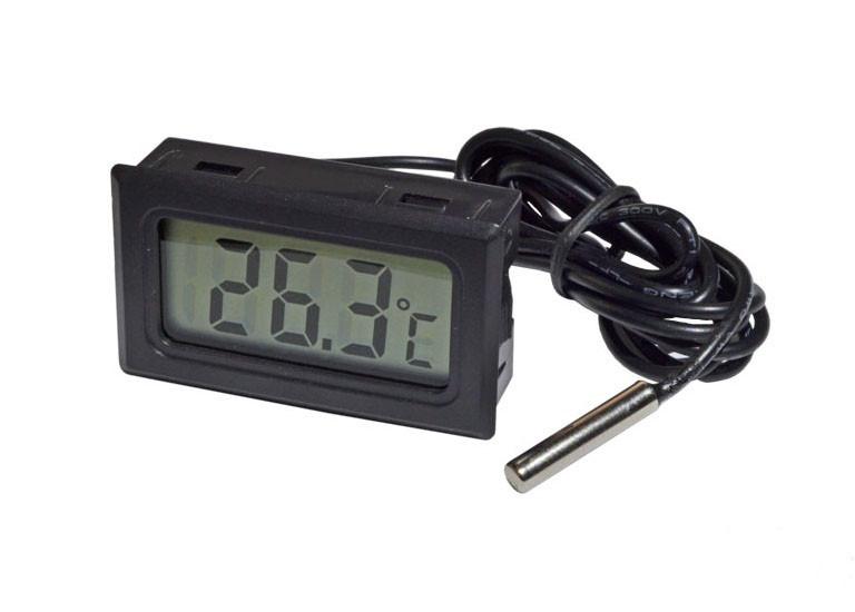 Термометр ТРМ-10, градусник цифровой с выносным датчиком -50....+110 (Черный)