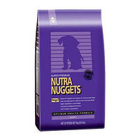 СУХОЙ КОРМ Nutra Nuggets Puppy (Нутра Нагетс) фиолетовая для щенков 15 КГ