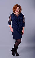 Женское платье больших размеров.Платье Ангела -50р