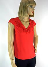 блузка з мереживом без рукавів Esay, фото 2