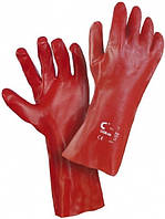 Перчатки с покрытием поливинилхлоридом «Redstart» 35см код. 0107001299100