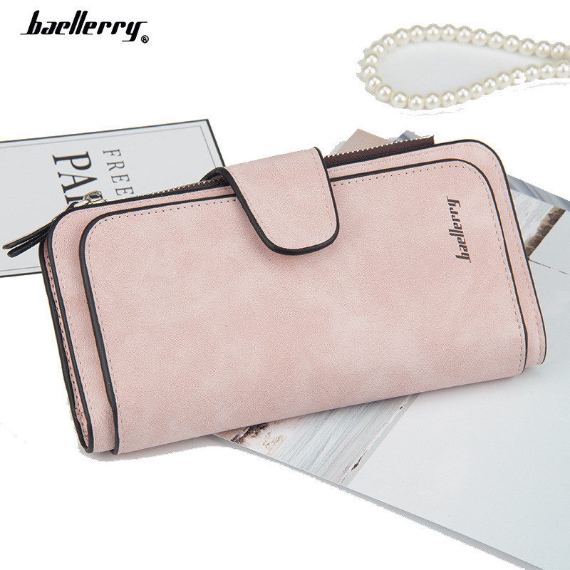 e38a795fd4c4 Женский кошелек, клатч Baellerry Forever, балери. Нежно-розовый (пудровый).