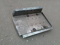 Соединитель левый (площадка под реактивные тяги) ВАЗ- 2121,21213,21214,Нива,Тайга, усиленный белый, фото 1