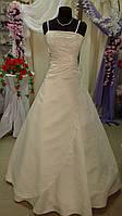 Платье свадебное шампань бисер