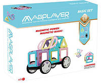 Конструктор Magplayer магнитный набор 28 эл. MPH2-28
