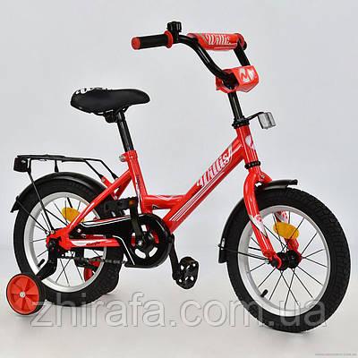 Детский двухколесный велосипед MAVERICK, 14 дюймов, терракот