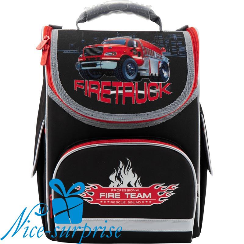 af4c75eb80ba Школьный рюкзак для мальчика Kite Firetruck K18-501S-1 (1-4 класс ...