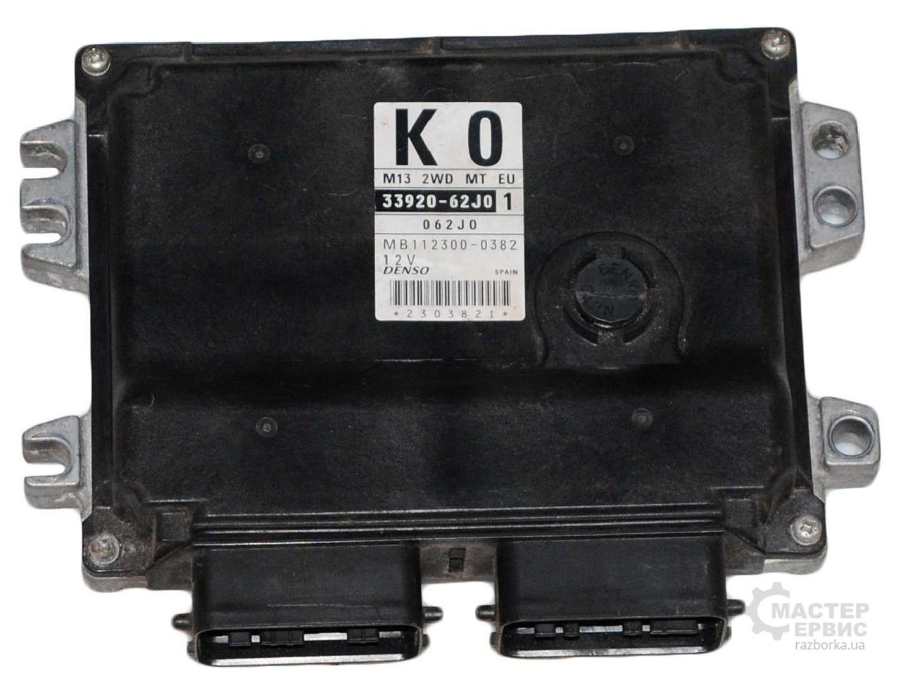 Блок управления двигателем 1.3 для Suzuki Swift 2005-2010 3392062J01, MB1123000382