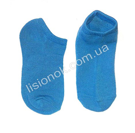 Детские носки 27-30 голубые