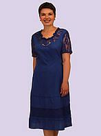 Платье женское. Модель 176.  Размеры 50-60