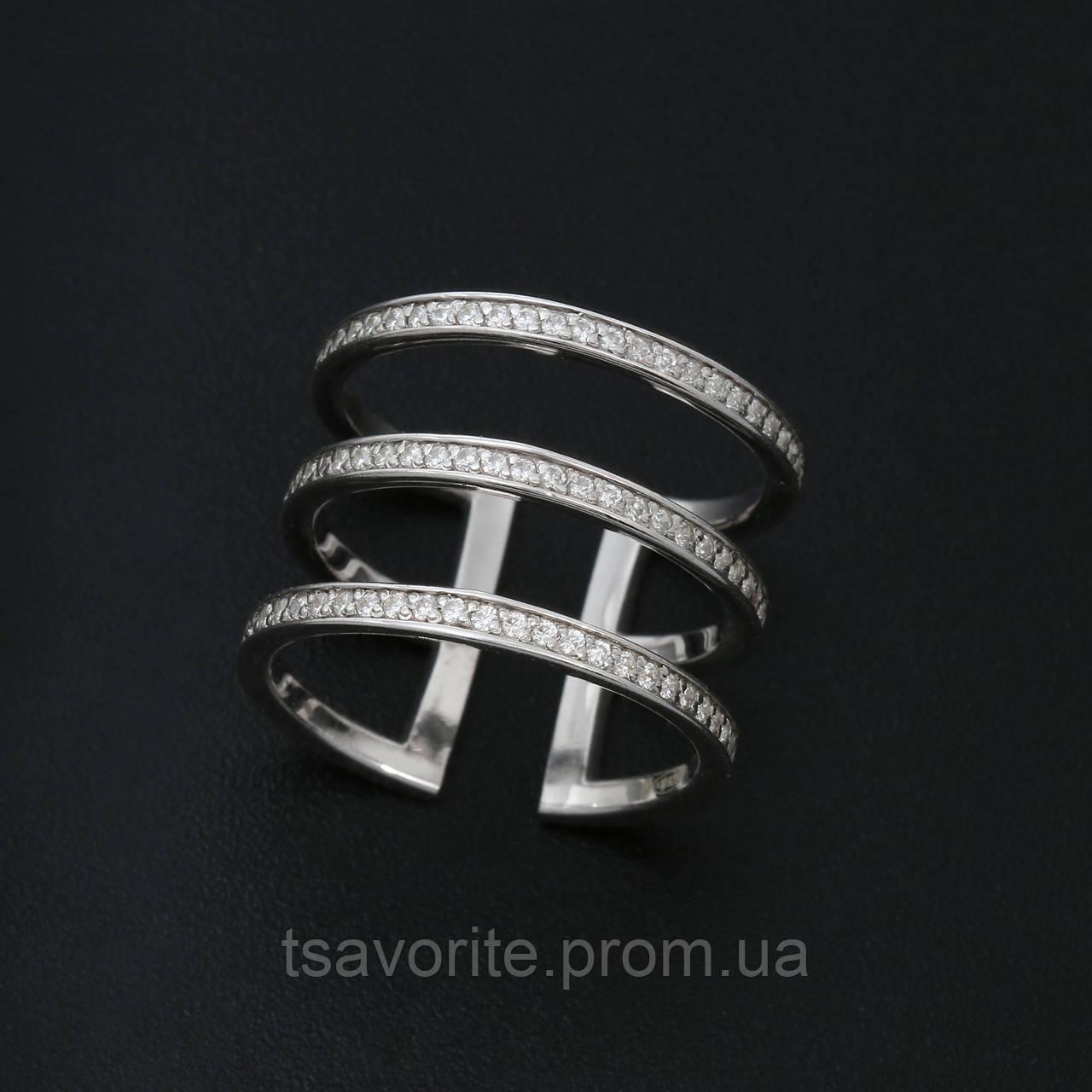 Серебряное кольцо КЖХ-43