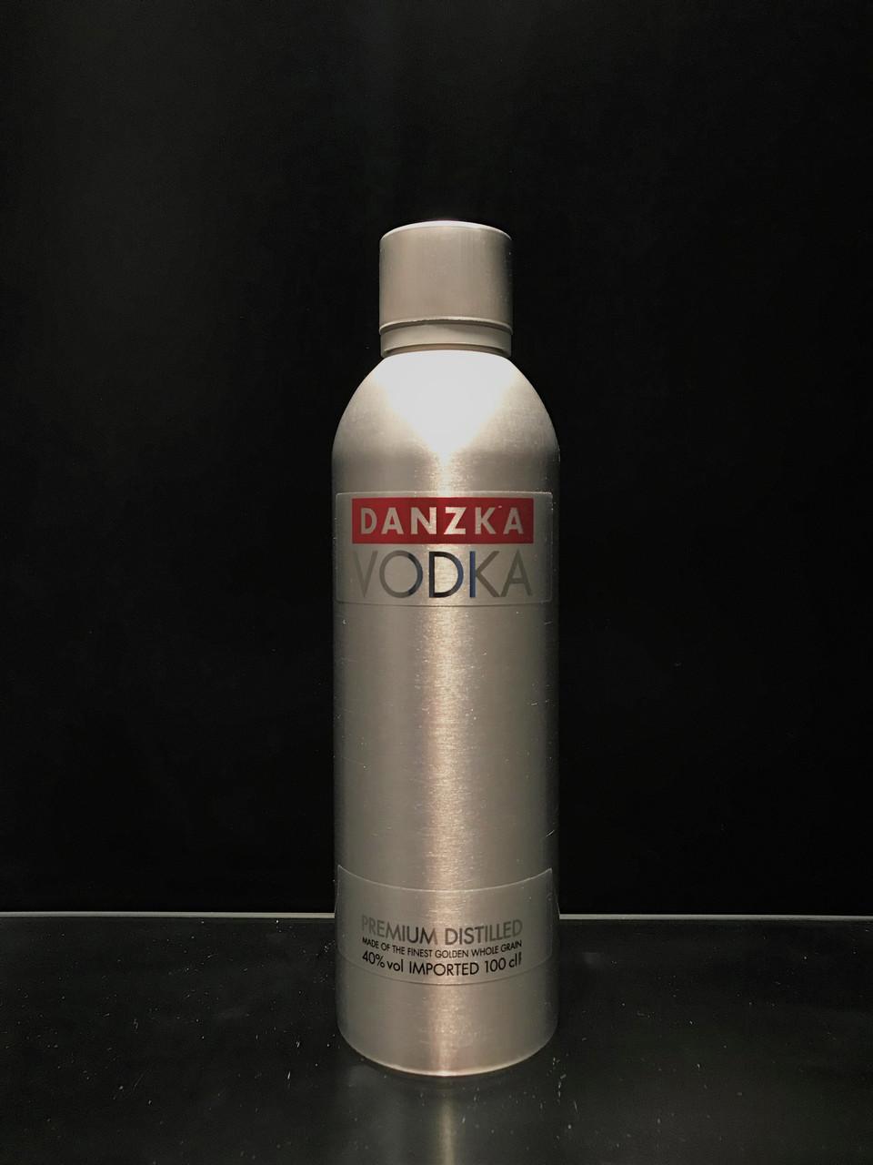 Водка Danzka Данская в алюминиевой бутылке 1л