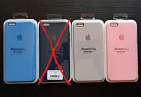 Накладка чехол SILICONE CASE на iPhone 6 Plus REPLICA серый.