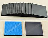 Термопрокладка 3K600 BK44 2.0мм 50x50 6W черная для видеокарт термоинтерфейс термопаста, фото 2