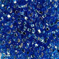 Чешский бисер для рукоделия Preciosa (Прециоза) оригинал 50г 33129-37030-10 Синий