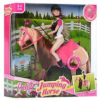 Кукла Anlily наездница и ЛОШАДКА, шарнирная аналог барби, лошадь муз., 99042, 006765, фото 1