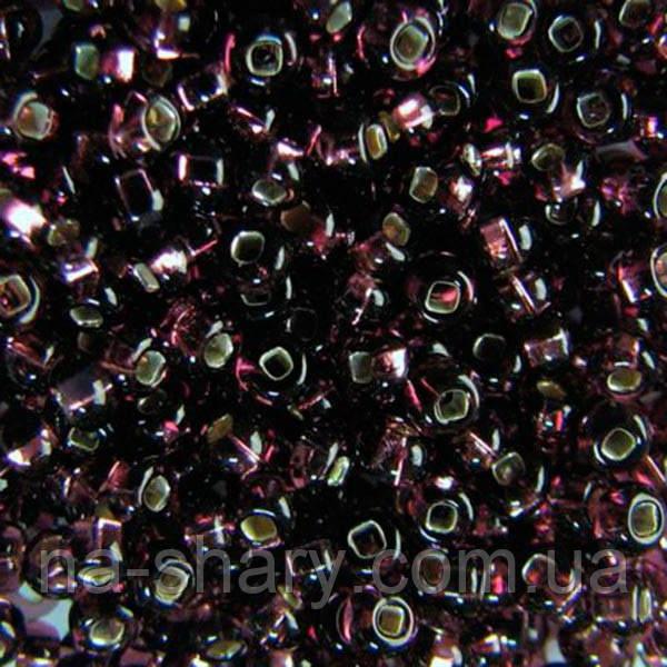 Чешский бисер для рукоделия Preciosa (Прециоза) оригинал 50г 33129-27060-10 Сиреневый