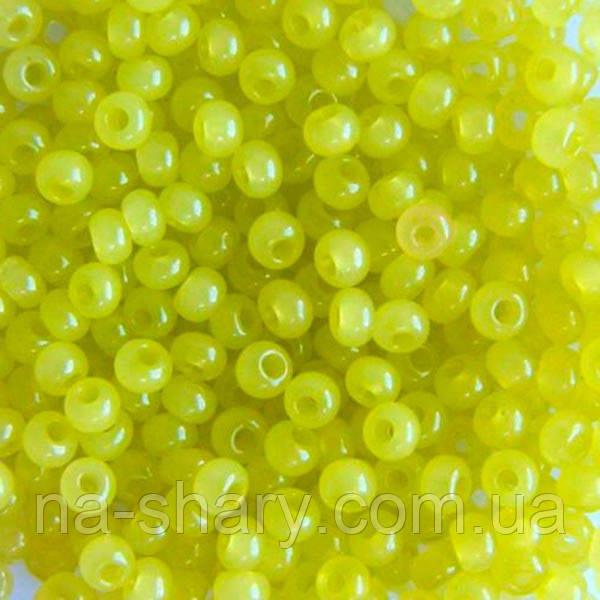 Чешский бисер для рукоделия Preciosa (Прециоза) оригинал 50г 33119-02153-10 Желтый