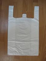 Пакеты полиэтиленовые белые Майка