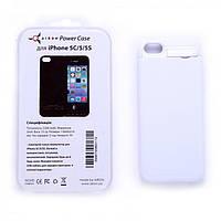Чехол-аккумулятор Airon Power Case для Apple iPhone 5 White
